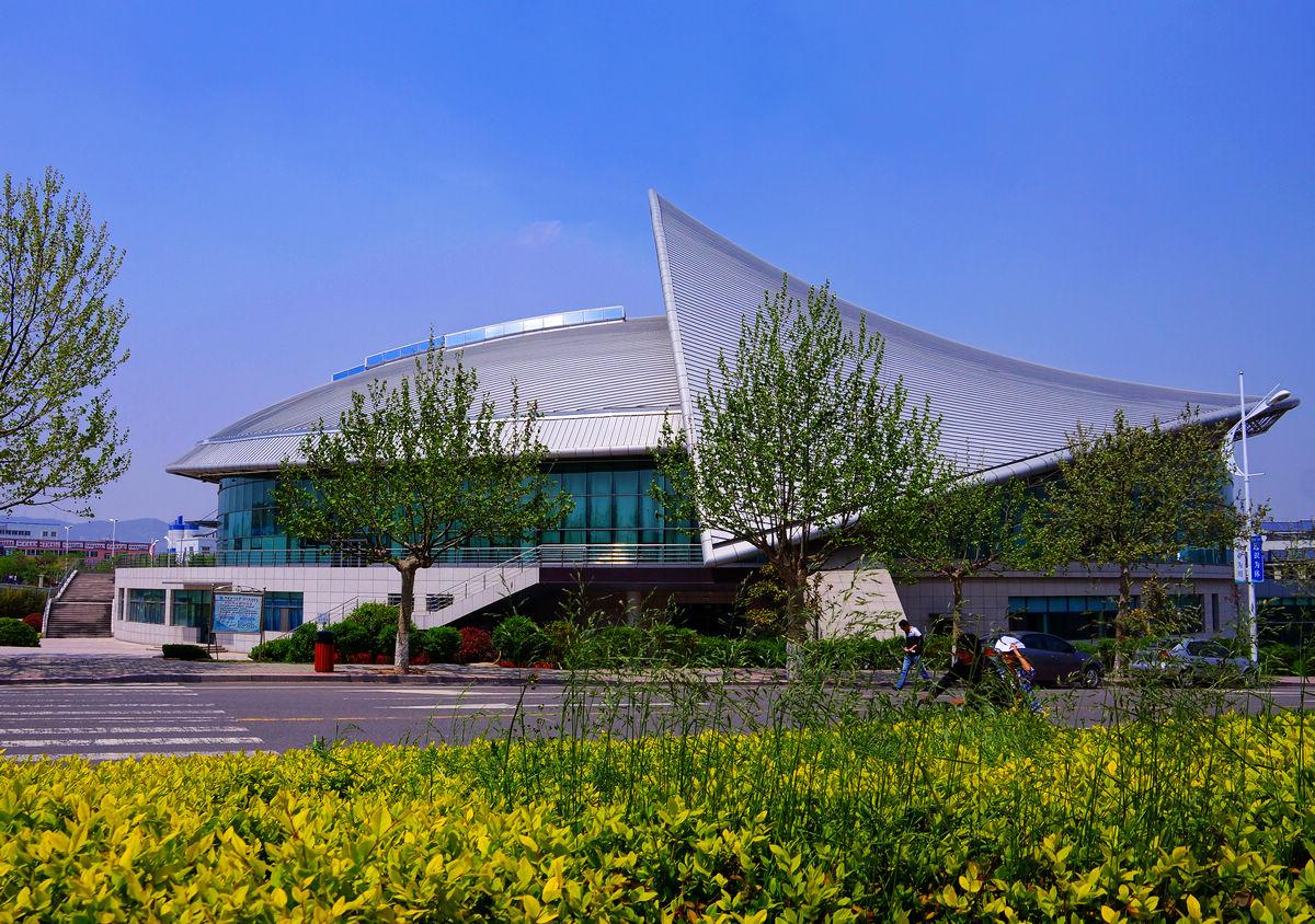 中国海洋大学美丽的校园风光!