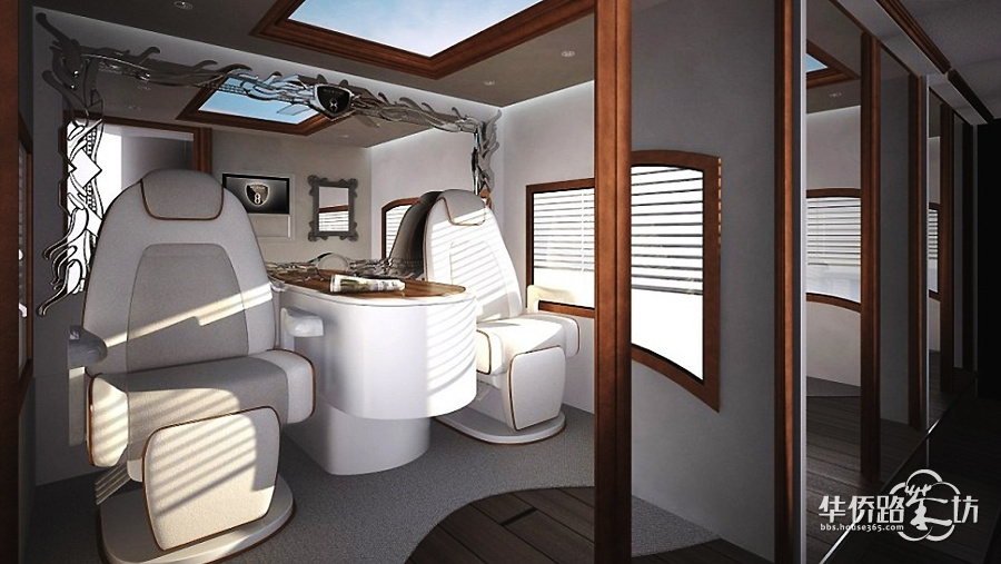┠豪车内部超豪华装饰鉴赏┨世界最豪华房车在迪拜