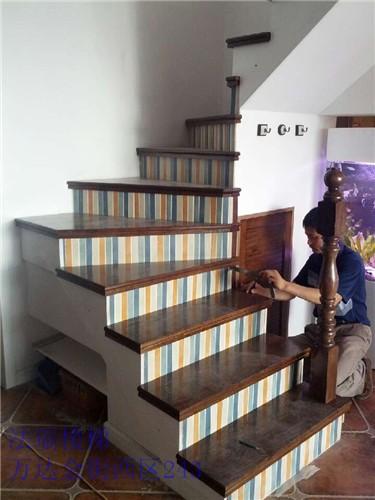 南京法瑞楼梯之法瑞楼梯现浇楼梯基础铺实木板铁艺