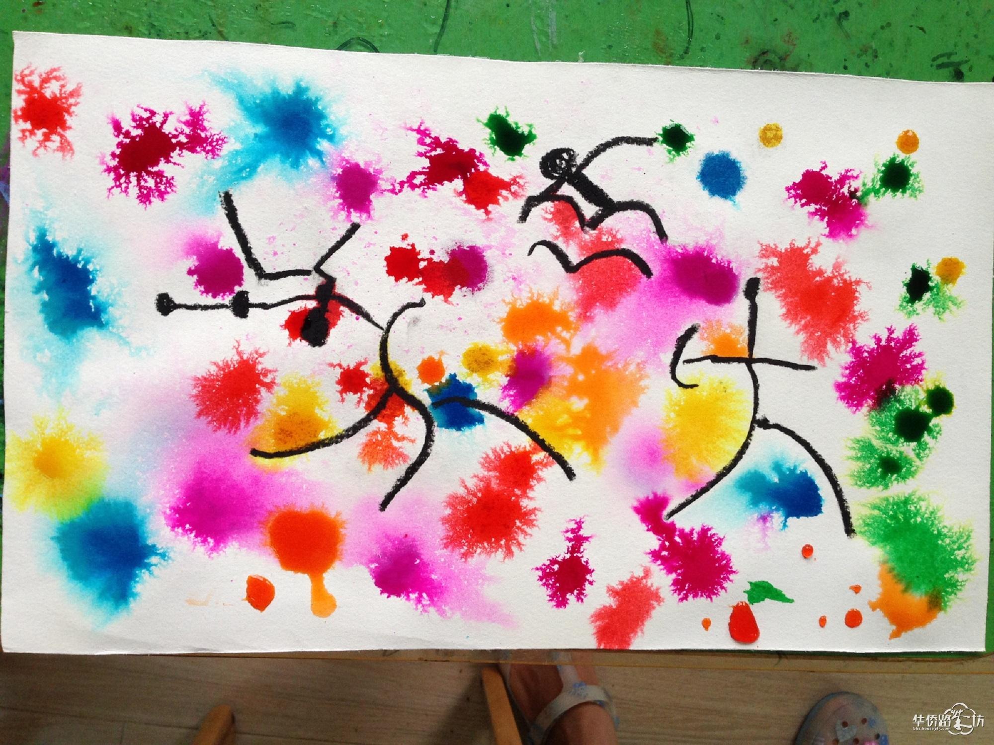 *七彩童画创意美术*暑假作品秀图片