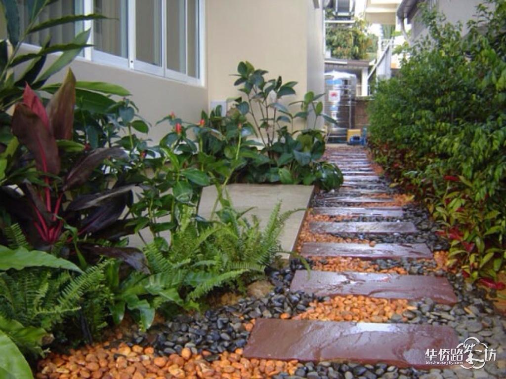 设计分享 庭院小路设计平面图 > 幽静的庭院小路设计