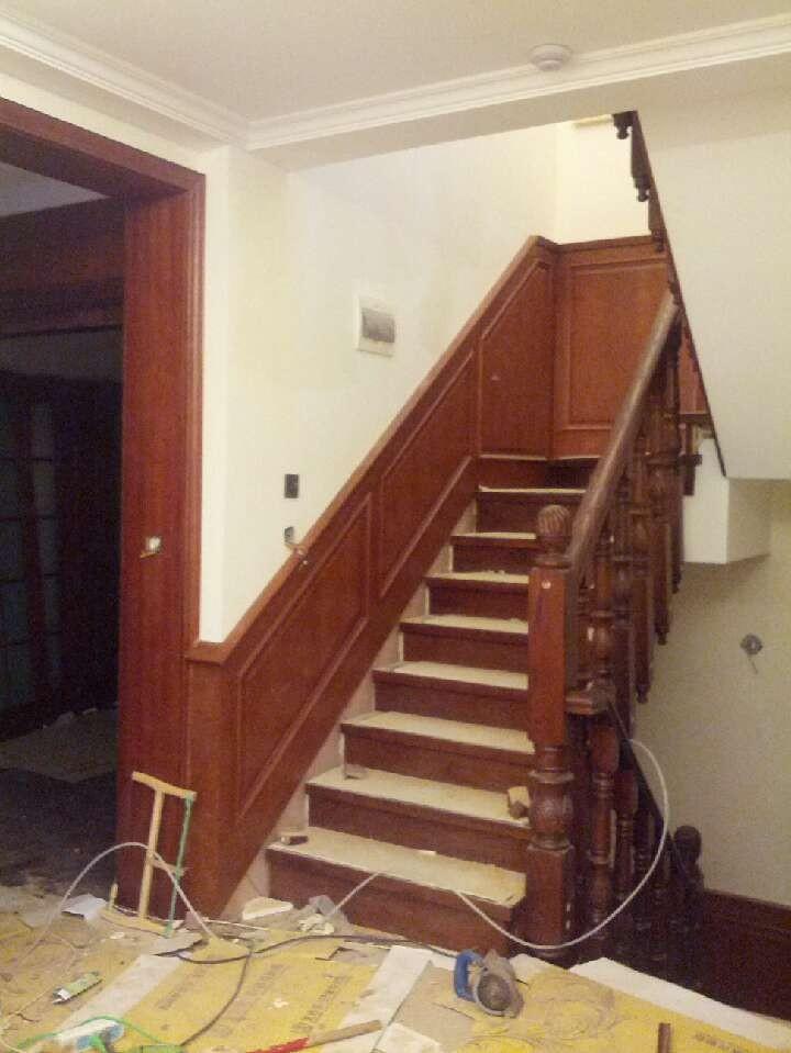 楼梯护墙板效果图