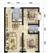 柠檬公寓户型图