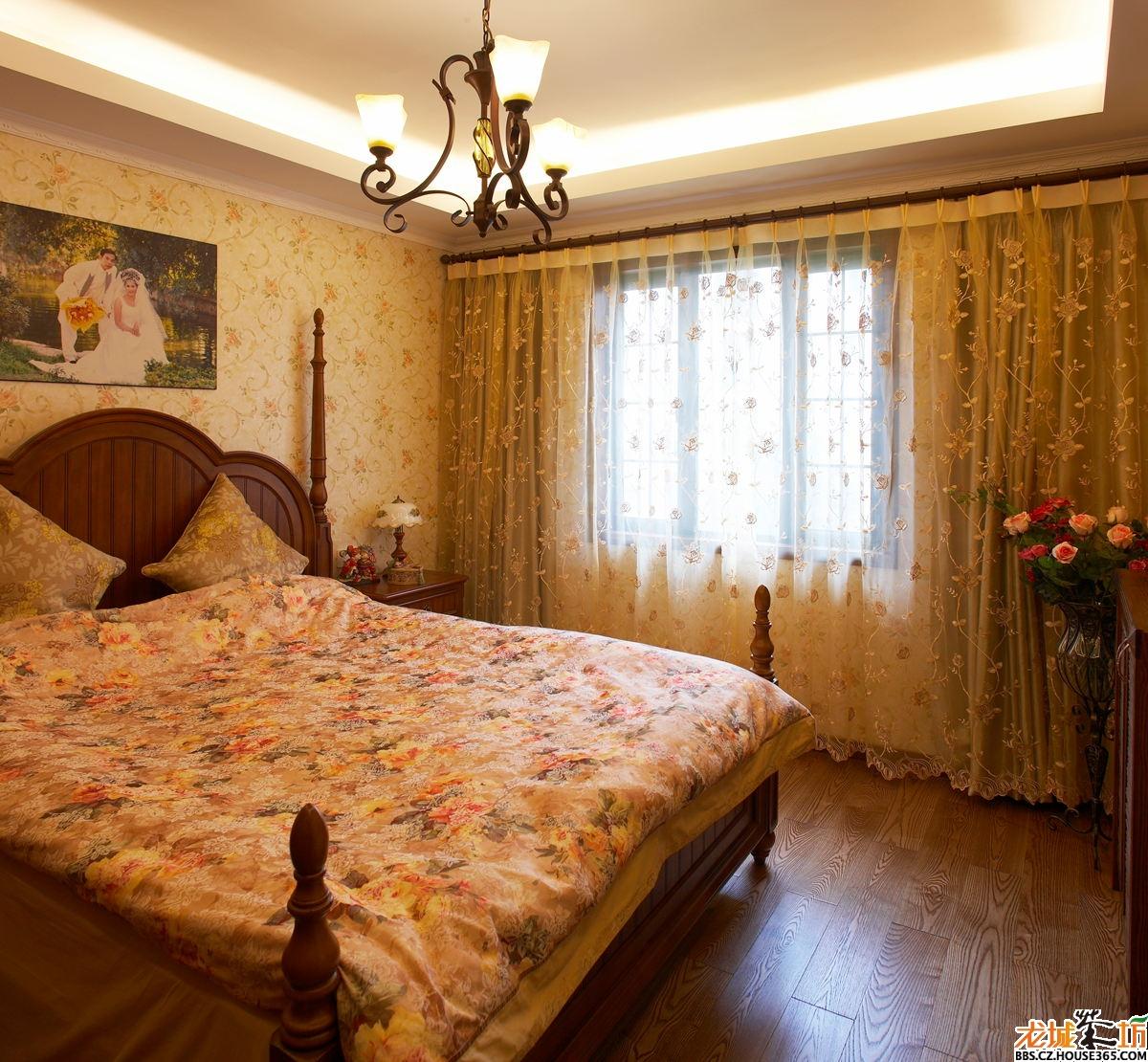 2013卧室装修效果图—美式风格