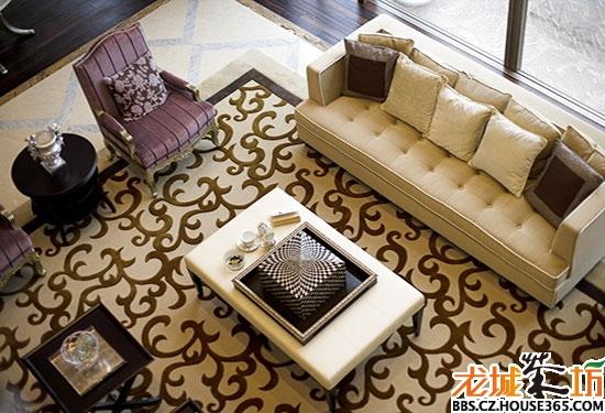 现代欧式地毯贴图