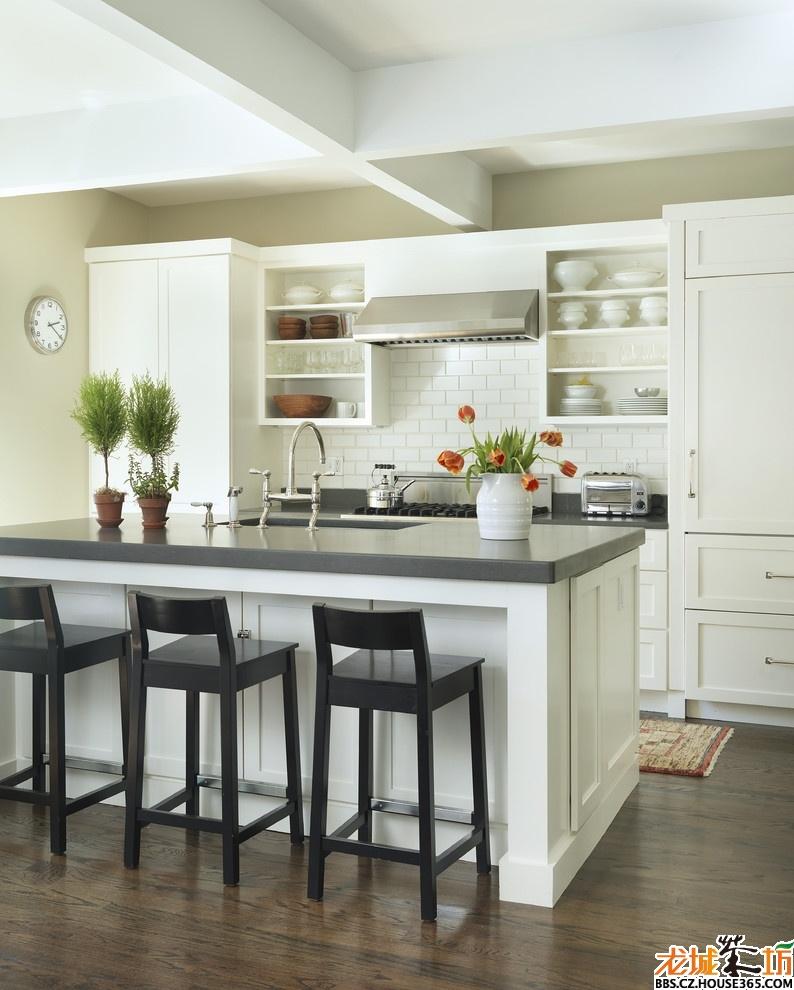 欧式厨房装修效果图_家装大家谈_龙城茶坊
