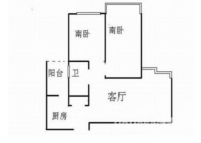 整租\瑶海公园香江国际佳元两室一厅精装修 家电齐全 拎包入住 ,