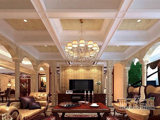 简欧式客厅装修效果图欣赏!