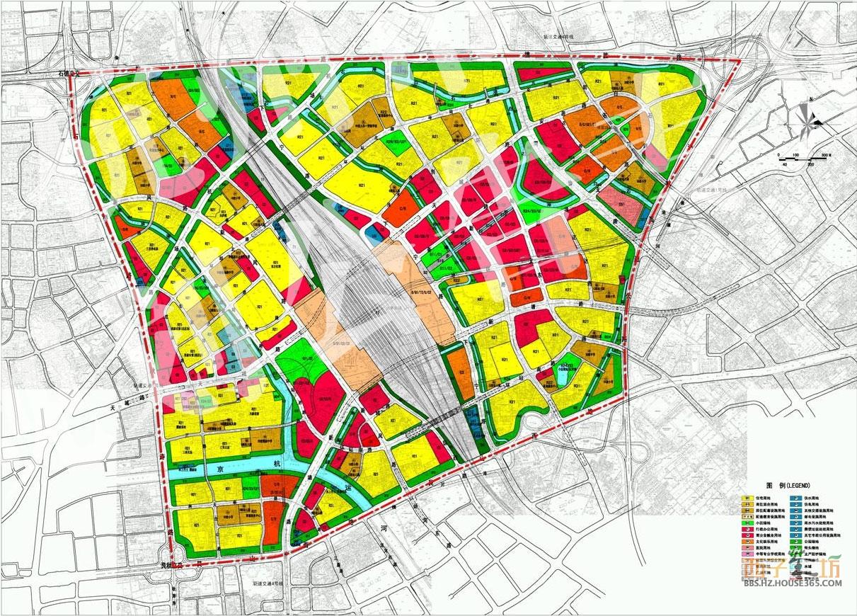 城东新城新的规划图