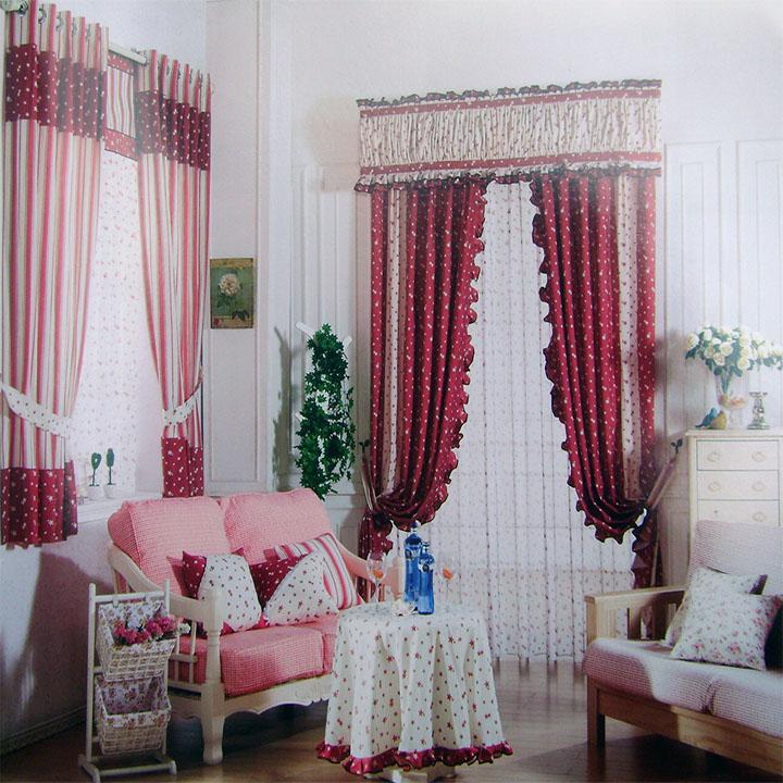 美式田园窗帘,现代简约,简欧欧式,田园风格,中式窗帘,布艺窗