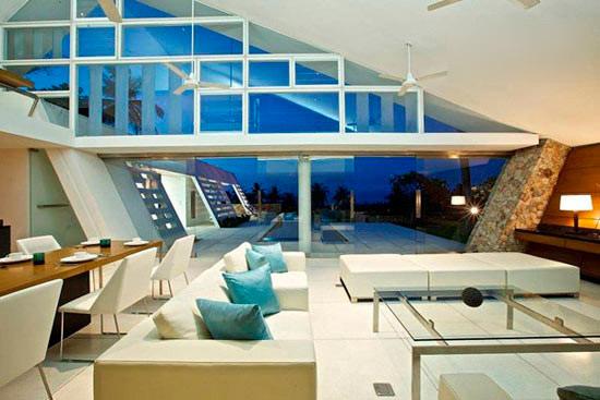 家居屋顶装修效果图 泰国度假别墅唯美设计