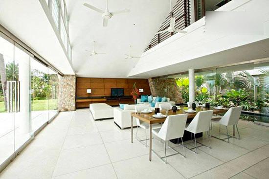 度假别墅唯美设计 屋顶装修效果图