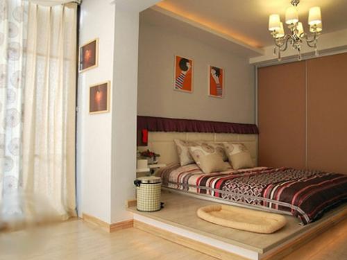 长房子做榻榻米和衣柜设计图展示图片