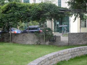绿城花园实景图