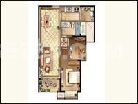 国3号L户型 2室2厅2卫 89平