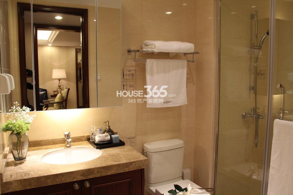 万科紫台b2户型125方样板房——卫浴