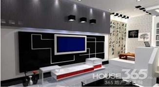 窄电视背景墙效果图 创通透小户型