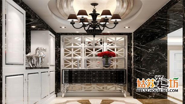> 玄关吊顶装饰效果图 不一样的风格不一样的装修要点
