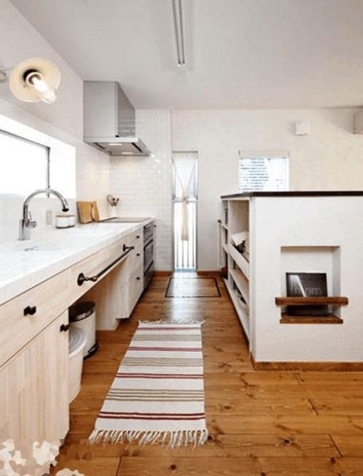 清新原木风装修:在室内装饰风格中,未经精细加工的原木占有很重要的