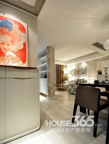 田园风格.90平米装修两室两厅,80后文艺小夫妻的清新装修.