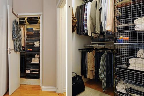 70平米小户型装修效果图:收纳衣柜