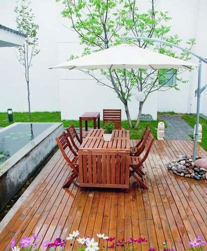 庭院装修图片 10例设计让惬意气息充满生活-365地产网
