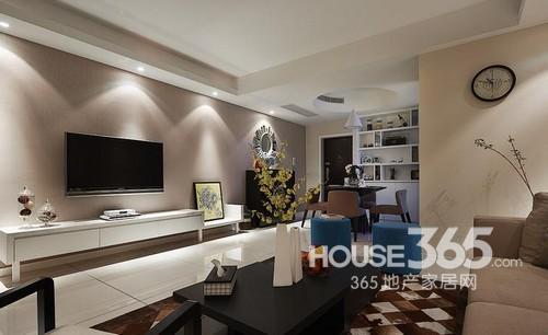 房屋装修设计图片欣赏 三室简单大气