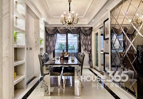 100平米装修宽敞两室两厅 新装饰主义格调绽放