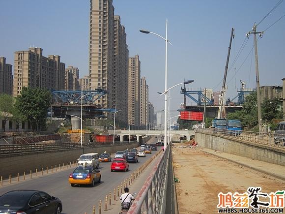 【城市播报员】宁安铁路建到北京中路立交桥啦(左岸)