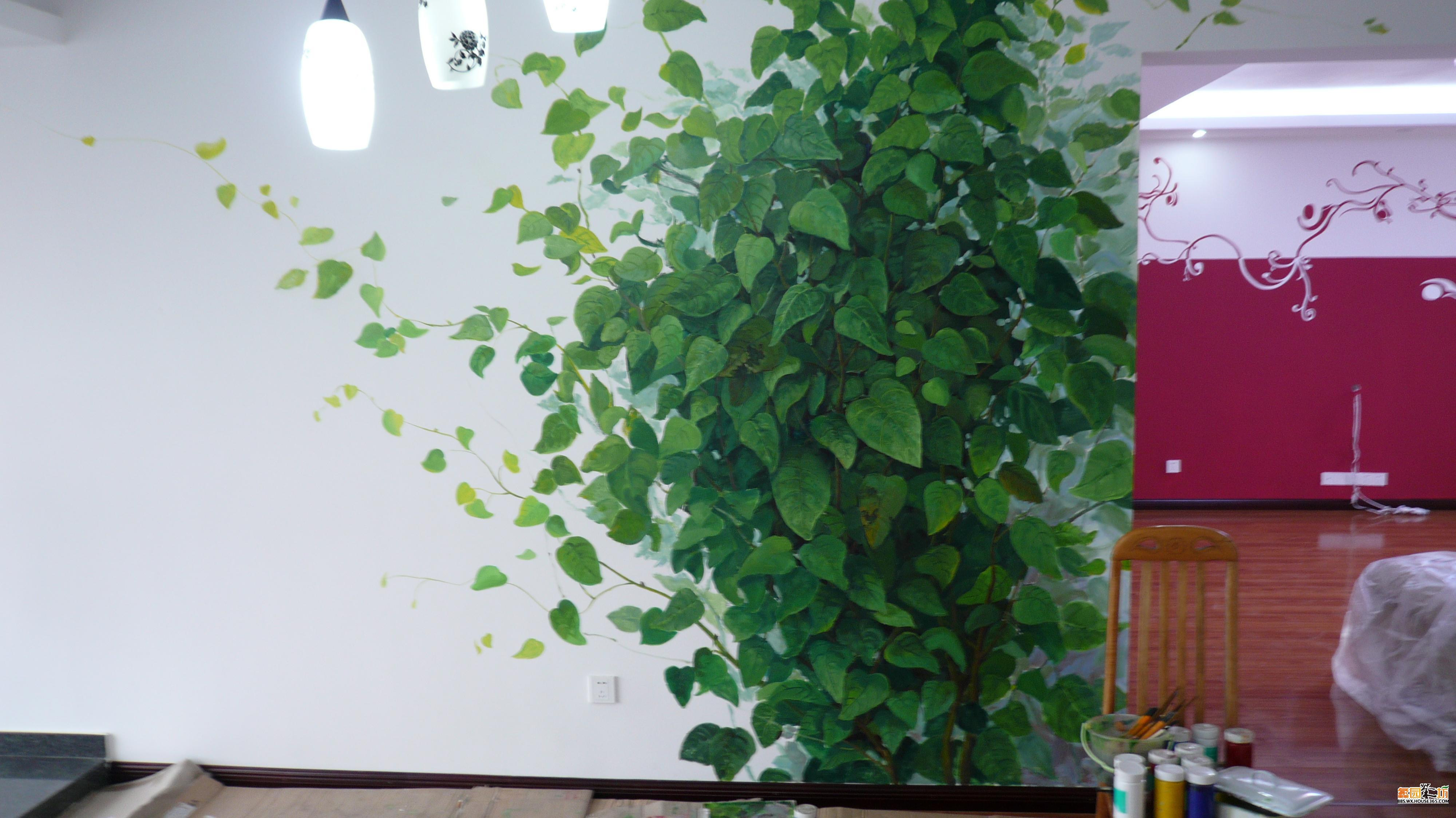 > [贴图]墙体彩绘三大注意要点&如何确定自己家墙绘风格&各种墙绘赏析