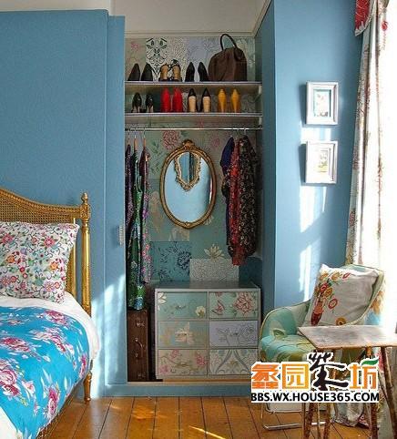 小户型装修,30平方卧室装修效果图