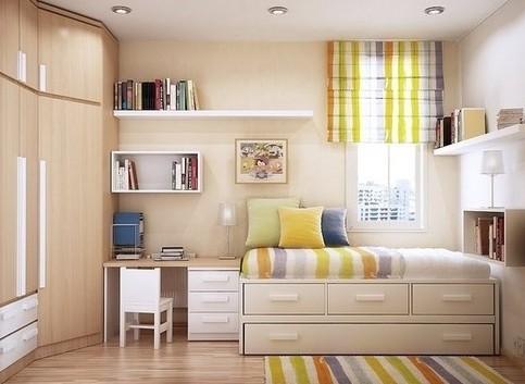 小户型装修样板房 24款美国家庭的家居设计图   有钱人十万省钱装修