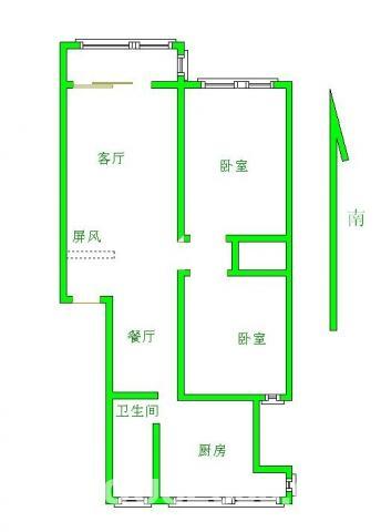永丰路新世纪花园2室拎包入住2朝南通透近地铁口家乐福交通便利