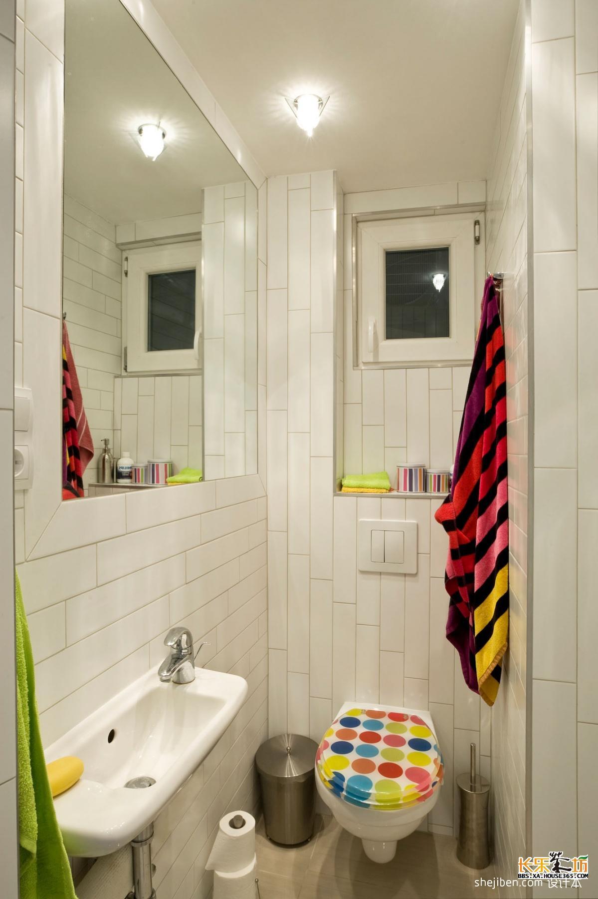 4平方的卫生间装修,效果图大放送,教你如何充分利用空间