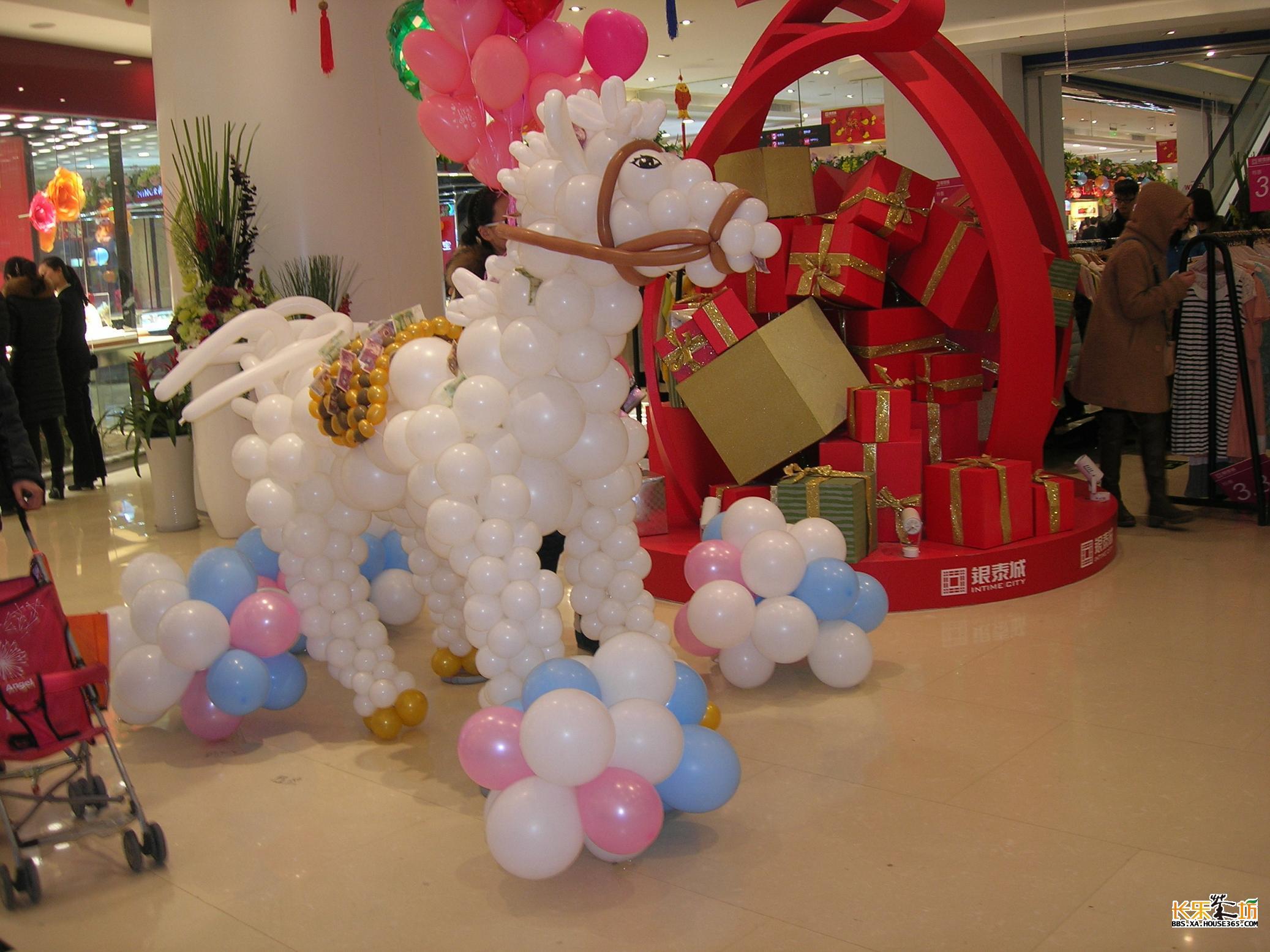 气球小马 马背上真的有钱!